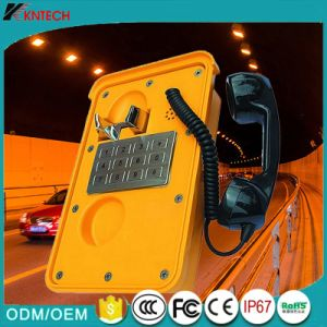 Telefone VoIP P66 para os túneis de mineração subterrânea