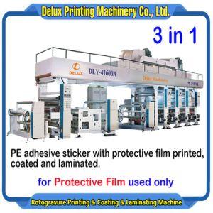 Película de protecção utilizados de impressão por rotogravura máquina de revestimento laminado (DLY-41600Um)
