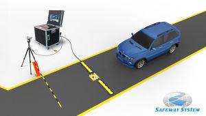 Устройство контроля безопасности под автомобиль сканера