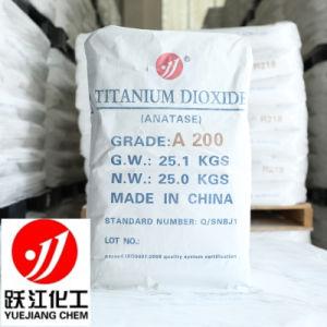 Het lage Heavy-Metal Farmaceutische Voedsel van het Dioxyde van het Titanium van Anatase van de Grondstof TiO2