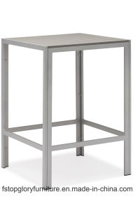 Piscina de barras de madeira sintética de alumínio