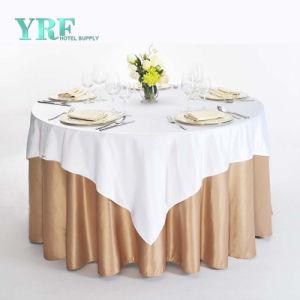 Nappe ronde 132  fête de mariage Banquet Gold Silver Rose Blanc Rouge Bleu Spandex Tablecloth