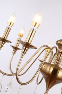 Dekoratives modernes LED Anhänger-Licht der Großhandelsesszimmer-Eisen-Lampen-