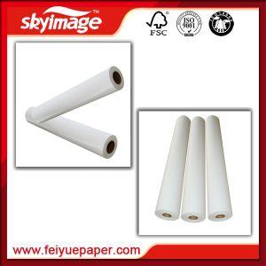 Экономика/ Быстрая Сухая бумага с термической возгонкой Fj90GSM для текстильной ткани