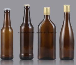 luftdichte Schutzkappebrown-Glasbierflaschen des Schwingen-33oz