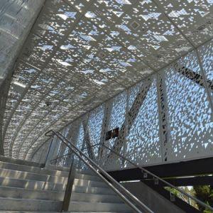 Индивидуальные конструкции алюминий твердых панель для художественного музея здание