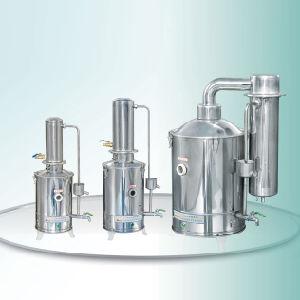 Destilador de água portátil médica em aço inoxidável