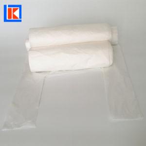 손잡이 동점 t-셔츠 PLA Pbat D2w 생물 분해성 Compostable 부대