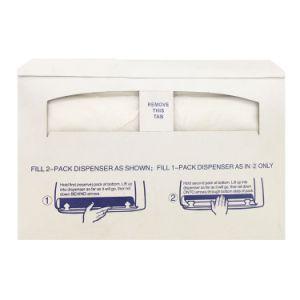 使い捨て可能な250のカウントのトイレットペーパーのシートカバー