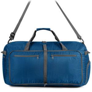 418f2a0575 Azul populares Duffel bag bolsa Saco de viagem bolsas mochila (FRT3-453)