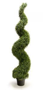 120cm de la décoration de jardin topiaire de fonction Buis Herbes spirales en Pot