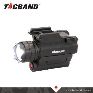 武器のための赤いレーザーの視力のポインターが付いている戦術的なLEDの懐中電燈