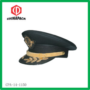 Mens Peaked Embroidered Military Caps (CPA-14-1150)