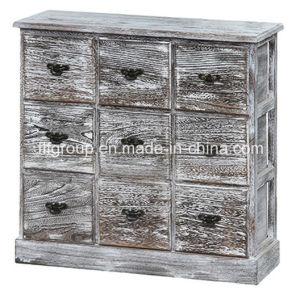 Горячая продажа европейского Vintage Style деревянная упаковка шкафа электроавтоматики
