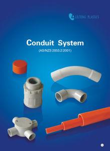 A Austrália Standard (AS/NZS2053) UPVC / Tubo de plástico de PVC / Conduit & Acessórios