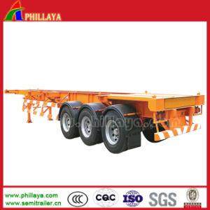 ターミナルヤードは容易な配達40ton 20-40フィートの容器のトレーラーを半ポート使用する