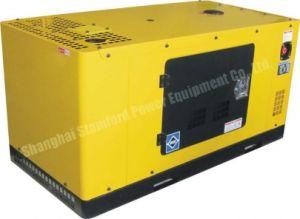 Cumminsの24kw水Cooled、Portable、Silent Canopy、Cummins Engine Diesel Generator Set
