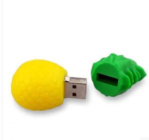 USB-Stick творческих ананас/фрукты USB USB 1 ГБ-64ГБ флэш-накопитель флэш Pen Drive U подарочной карты памяти Memory Stick