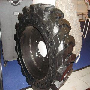 자연 고무를 가진 단단한 미끄럼 수송아지 타이어 또는 타이어