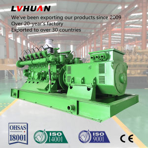 Generators van het Aardgas van de lage Prijs de Beste 3pH 500kw Motorige Aangedreven