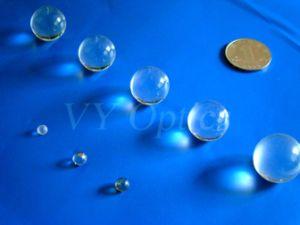 Optisches Zns kugelförmiges Kugel-Glasobjektiv/Hälfte-Kugel Objektiv