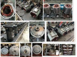 Pompa ad acqua centrifuga elettrica Scm2-60 (1.5kw/2HP), due (doppie) ventole d'ottone