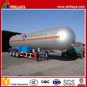 55.6 M3 Schlussteil-Behälter des flüssigen Gas-LNG Tanktransport halb