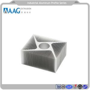 좋은 품질 기계 부속품을%s 알루미늄 단면도 물자를 가진 알루미늄 방열기 그리고 열 싱크