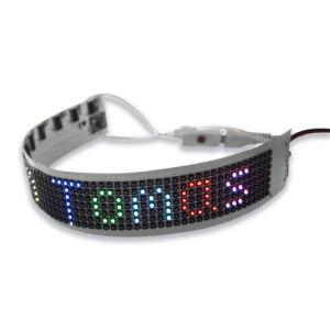 Farbenreiche drahtlose Text LED-Bildschirmanzeige-Firmenzeichen-Animation-Bildschirmanzeige-Panel-dekorative Beleuchtung