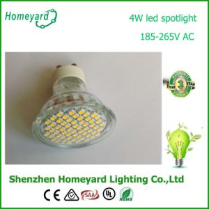 2years Warranty 4W SMD GU10 LED Spotlight