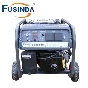 Elektrischer Anfangstyp Benzin-Generator-Set für Hauptstromversorgung
