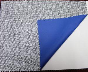 50D/310t leve tecido revestido a PU com impressão