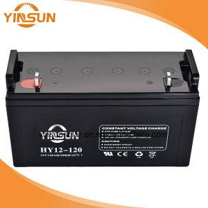 12V120AH Sellado de alta calidad libres de mantenimiento de la batería de plomo-ácido baterías