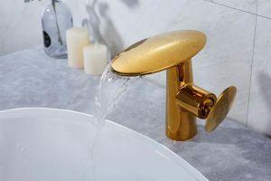 新式の真鍮の単一のレバーの洗面器のコックTL01A401
