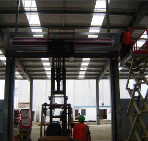 El metal de alta velocidad a la acumulación de garajes subterráneos de la puerta (IC-2003)