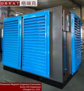 Compressore d'aria rotativo ad alta pressione della vite per la misurazione del rumore libero
