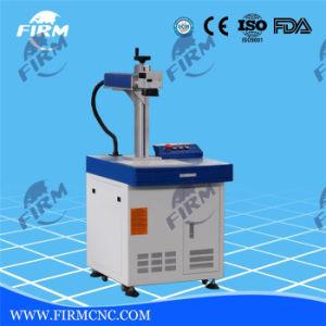 Marcado de la máquina de grabado láser de fibra