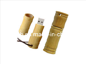 木USB闪光驱动器