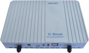 Bandas único amplificador de señal móvil con dos antenas