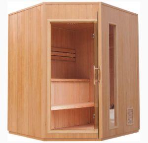 Cabina de Sauna Sauna de madera maciza Rrom cicuta Sauna