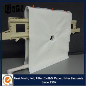 Gezi nylon/polypropylène PP/PE de tissu filtrant pour filtre Appuyez sur la machine