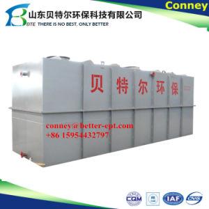 Stabilimento di trasformazione delle acque luride del pacchetto STP, strumentazione industriale poco costosa di trattamento di acqua di scarico