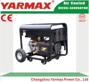 Generador diesel silencioso del soldador del pabellón portable de Yarmax 5kw 5000W