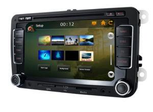 6,5-дюймовый DVD 2 DIN для VW Golf/Passat /Tiguan/B5/Jetta/гольф5/Tiguan/EOS Tsi/сиденье /Заяц/Skoda с DVD/Bluetooth/радио/GPS/iPhone/iPod/3G функционировать в качестве-7608G