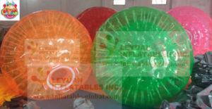 precio de fábrica de TPU Colores/PVC Bola Zorb EN14960