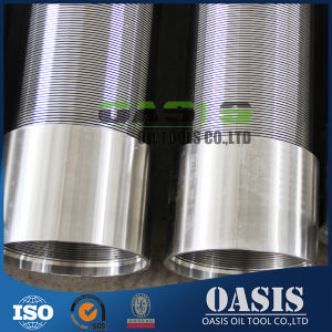 Perforación de Pozos de agua basado en la varilla de alambre de la cuña de tubo de pantallas