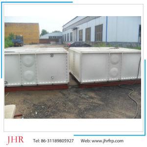SMC retangular de PRFV 1000 litros com reservatório de água