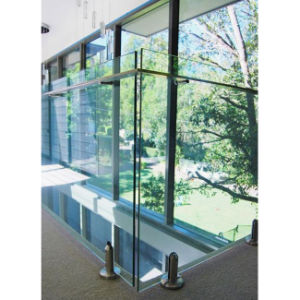 De binnen Systemen van de Balustrade van de Veranda van het Traliewerk van het Glas Frameless