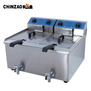 상업적인 체더링 장비 산업 전기 칩 프라이팬 (DZL-36V)