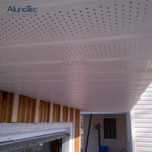Le mur intérieur des panneaux décoratifs en aluminium plafond en métal